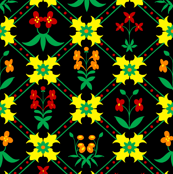 Tapestry Flowers 3
