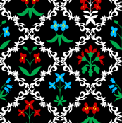 Tapestry Flowers 4