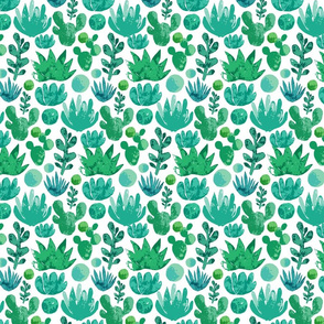 Succulents_trace_pattern3