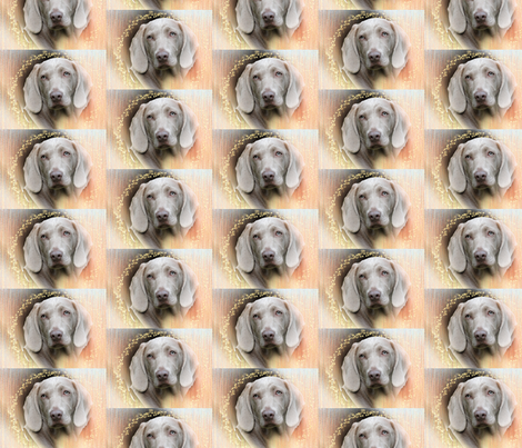 pastel weimaraner fabric by dogdaze_ on Spoonflower - custom fabric
