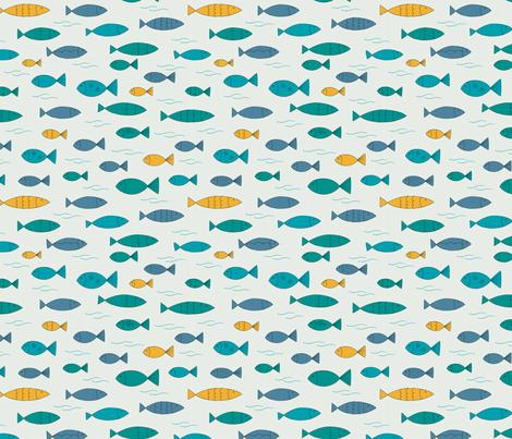 Plenty of fish in the sea fabric rocket ruby designs for Plenty fish com