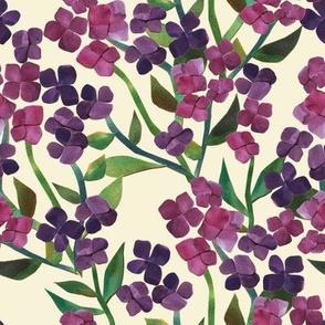 Paper Cut Hydrangea - Cream