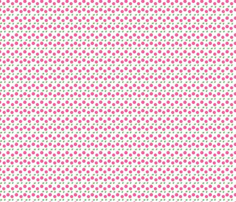 Pink Cherries fabric by snapdragonandfinn on Spoonflower - custom fabric