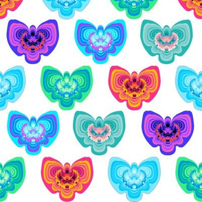Fractal Moths