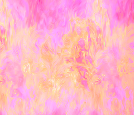 Flaming Hot fabric by piper_&_paige on Spoonflower - custom fabric