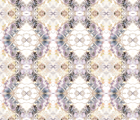WATERCOLOR DAMASK MARBLE BEIGE MAUVE fabric by paysmage on Spoonflower - custom fabric