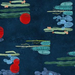 Cactus garden pattern /90/