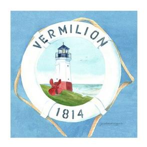 Vermillion Life Preserver