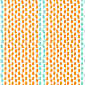 BRUSHSTROKES_orange_and_aqua