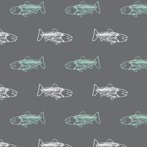 Salmon Doodles