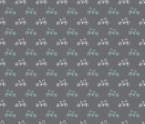 Bike Doodles fabric by hazelnut_green on Spoonflower - custom fabric