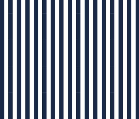 navy_stripe fabric by grubbeekids on Spoonflower - custom fabric