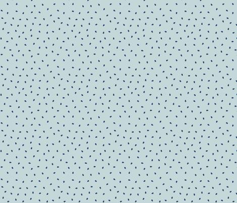 Seeds on Aqua by finka studio fabric by finkastudio on Spoonflower - custom fabric