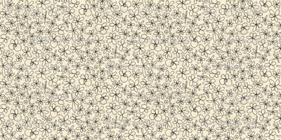 garland flowers ivory