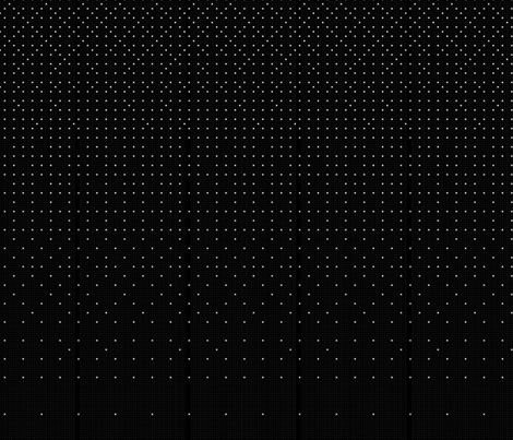 Dots and dots black gradient fabric by the___architect__ on Spoonflower - custom fabric