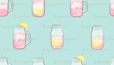 pink lemonade - summer time drinks v2