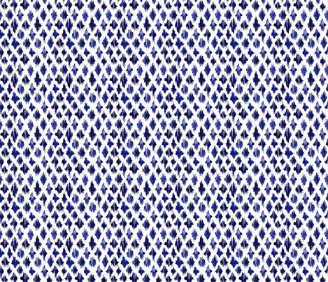 Shaking ultramarine mini fabric by katerinaizotova on Spoonflower - custom fabric