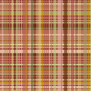 Mom's Sofa: Plaid