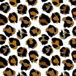 Leopard pelt texture