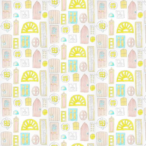 windowsanddoors fabric by marigoldpink on Spoonflower - custom fabric