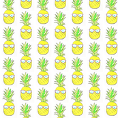 Pineapples In Sunglasses
