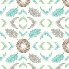 Feather-Nest-Gray-White-Aqua