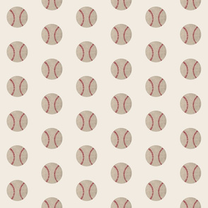 baseball vintage cream - MED3