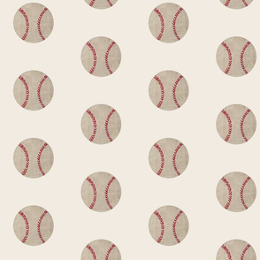 baseball vintage cream - Large 467
