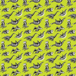 Lime Green Dinos