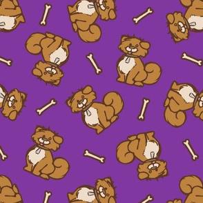 Puppies - Violet