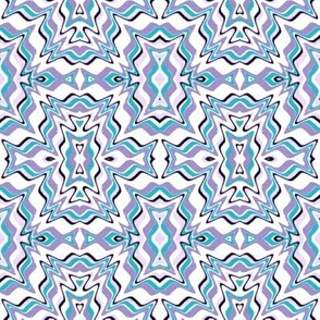 Little Girl Lavender -abstract