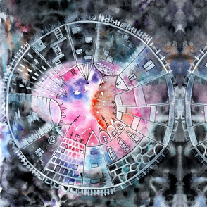 Cityscapes Mandala