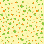 Baby yellow pattern