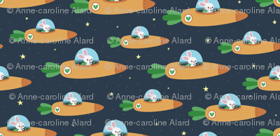 An army of space bunnies