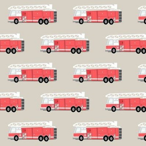 fire truck - beige