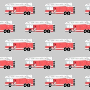 fire truck on light grey