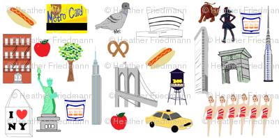 New York NYC favorites