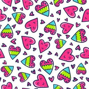 Happy Heart Doodle