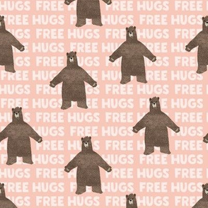 (small scale) free hugs bear