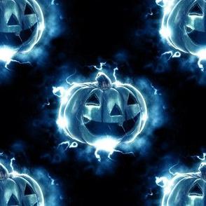jack o'lantern - halloween pumpkin - large