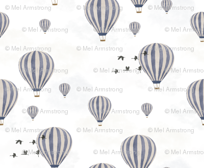 Hot Air Balloons over the Safari