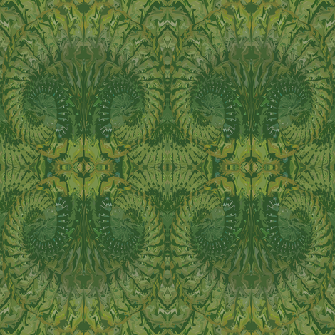 Pattern_3_Green_Yellow_Shadow_3 fabric by colormedesigns on Spoonflower - custom fabric
