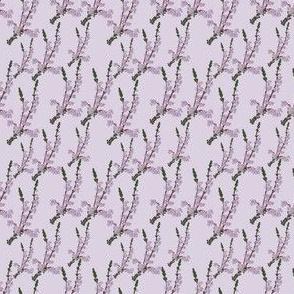 Heather Field Flower dark tint Print 2x2