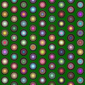 Galaxy_Polka-dots_Green