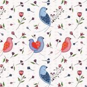 Birds_blooms_pajaros-corazon_TULIPAN_12x12in