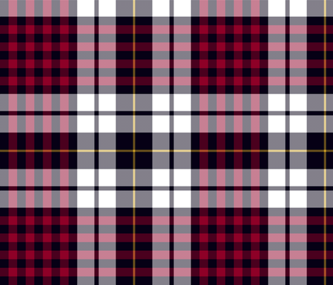 "Little clan dress tartan, 12"" fabric by weavingmajor on Spoonflower - custom fabric"