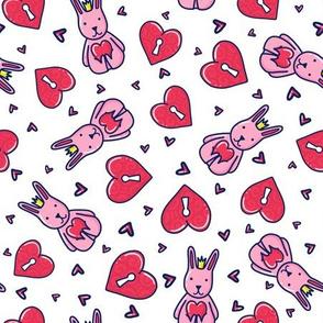 King Bunny Doodle