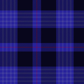 Little clan hunting tartan, 12""