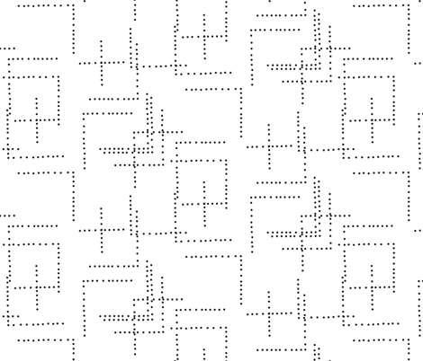 Bitmap (white)  fabric by nouveau_bohemian on Spoonflower - custom fabric