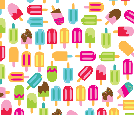 aloha popsicles fabric by alohababy on Spoonflower - custom fabric